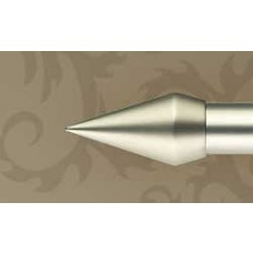Coneo-pääty mattakromi 25mm