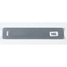 Hopea perforoitu (102) alumiinisäle