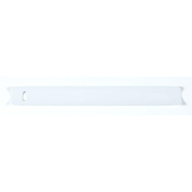 16 mm valkoinen alumiinisäle