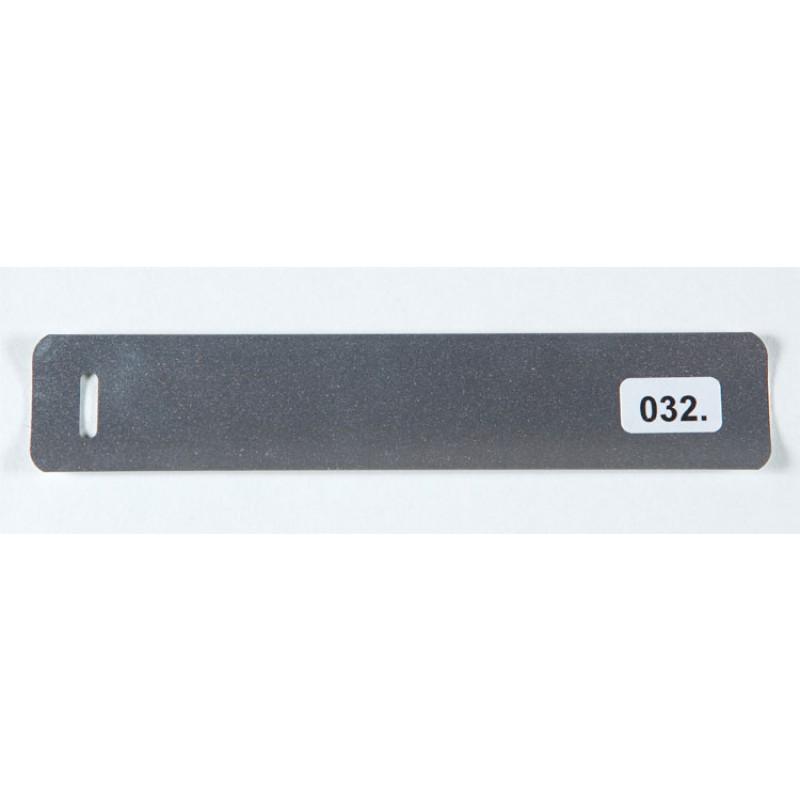 Metallinhohto hopea (032) alumiinisäle
