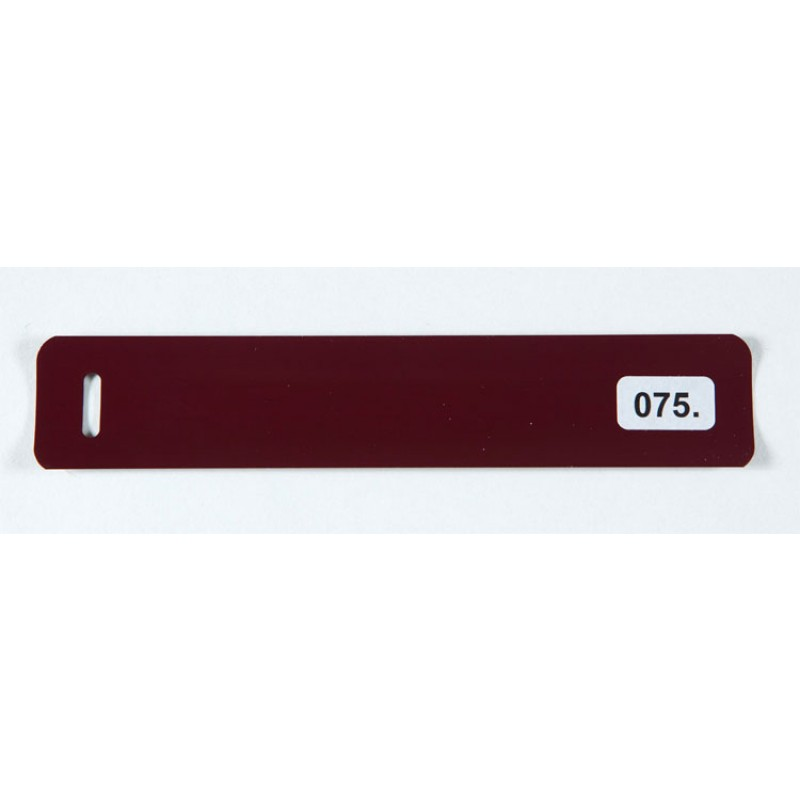 Viininpunainen (075) alumiinisäle