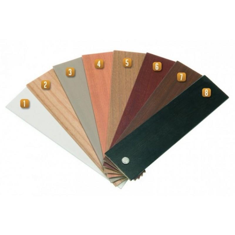 Puusälekaihdinten värivaihtoehdot