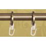 Metropolitan ripustusrenkaat antiikkimessinki 19mm (10 kpl/paketti)