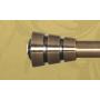Metropolitan Fedora-pääty antiikkimessinki 19mm